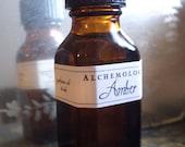 Amber Oil Natural Perfume Botanical Fragrance Oil Artisanal Small Batch Handmade in Brooklyn, NY