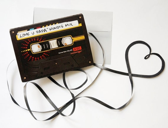 Fun Make A Mixtape Greeting Card