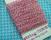 Bakers Twine - 60 yards - Red and White