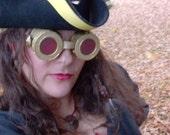 USED Steampunk Pirate Costume
