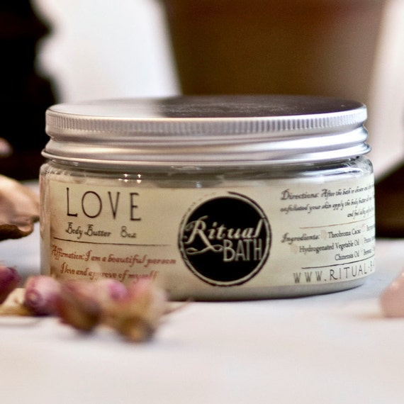 Whipped Shea butter cocoa butter body spa treatment rose jasmine aromatherapy