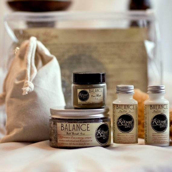 Spa bath kit to bring your skin into balance