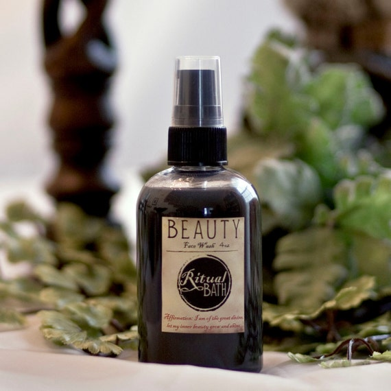 Charcoal face wash 4oz sulfate free, paraben free, with aromatherapy oils