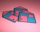 3 Little Houses - Magnets