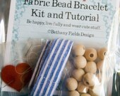 Kit - Blue Oxford Fabric Bracelet by Bethany Fields for Annie and Olive