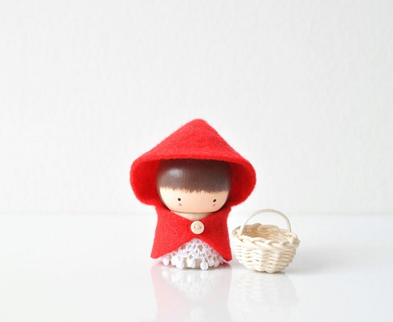 Little Red Riding Hood - Wooden Friend