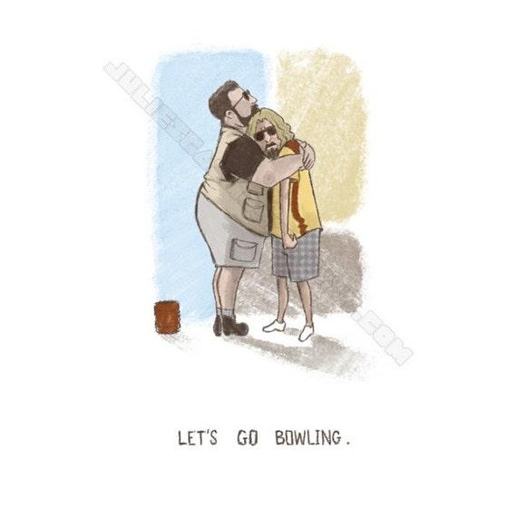 The Big Lebowski greeting or sympathy card