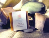 Honey Sandalwood Handmade Natural Shea Butter Soap