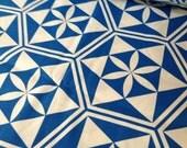 Vintage Geometric Retro Mod Print Cotton Canvas - Sold By The Yard