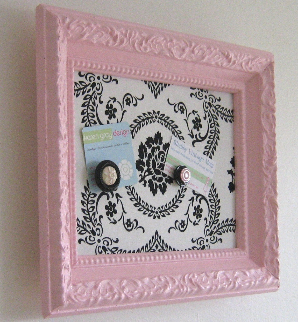 magnetic inspiration memo board modern shabby chic medium. Black Bedroom Furniture Sets. Home Design Ideas