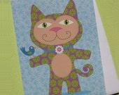 Big Kitty Greeting Card