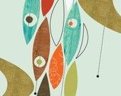 Giclee Print (Item No. P-2010-17) Movement