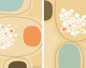 Two giclee prints (Etsy-only special) The peachy collection