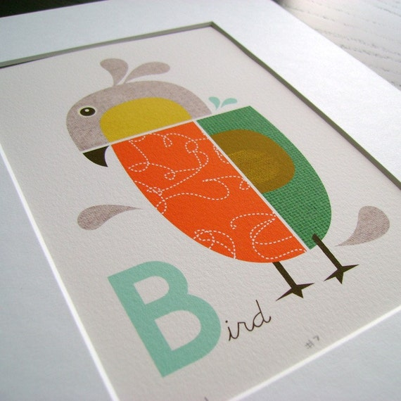 Small giclee bird print (item No. P-2008-1)