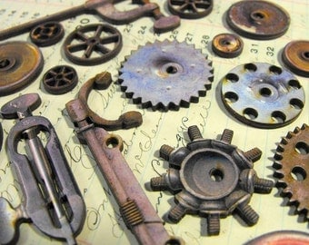 Vintage Gears and Wheels and Pulleys and Finger Torture Devices