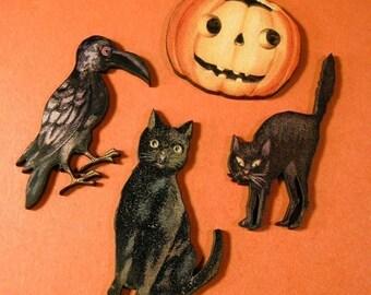 Vintage Halloween Cuts