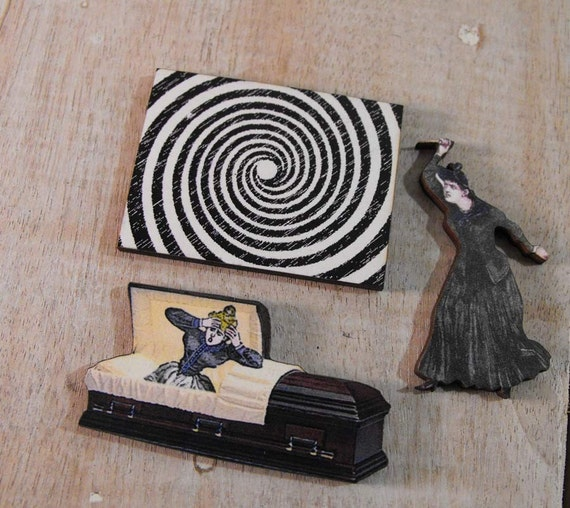 Dream and Nightmare Wood Cut Collection