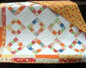 Moda's Love U Baby or Toddler Quilt...FLANNEL...pattern also for sale FREE SHIPPING limited time
