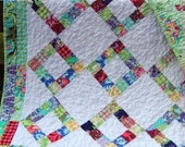 FREE SHIPPING limited time Amy Butler's LOVE Lap or Baby Quilt ..... pattern also for sale