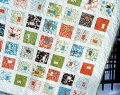 Moda's Chrysalis Lap Quilt or twin coverlet ....pattern also for sale