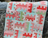 QUILT PATTERN ....One Jelly Roll, easy and quick, Key to my Heart