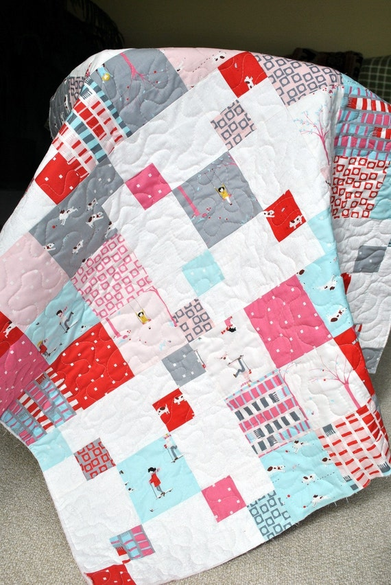 PDF QUILT PATTERN.... Quick and Easy...one Layer Cake or Fat : road quilt pattern - Adamdwight.com