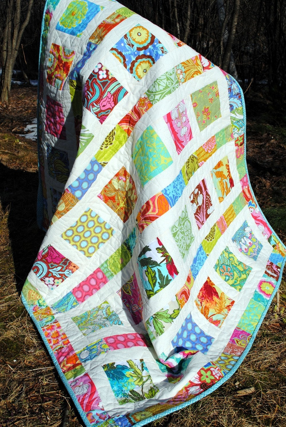 PDF Baby QUILT PATTERN....Quick And Easy...2 Charm Square