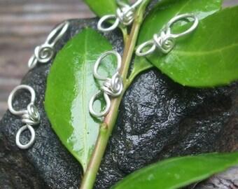 Handmade Sterling Silver Pendant Bails III, PurpleLily Designs, SRA
