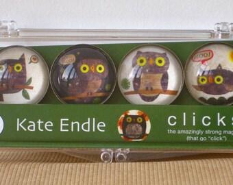 iPOP Clicks Hoo Hoo Owls magnet set