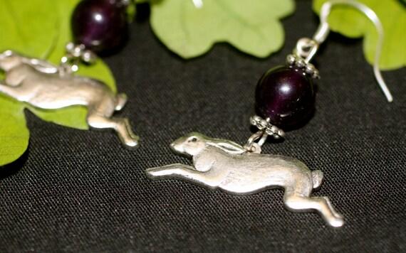 Leaping Hare earrings
