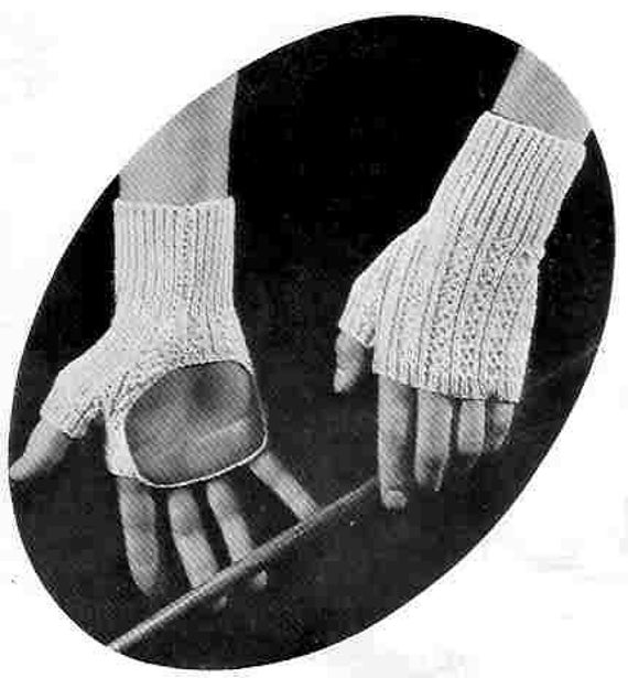 Knit pattern fingerless gloves Men's Gloves & Mittens | Bizrate