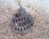 Personalized Key Ring or Dog Tag