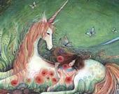 Unicorn Fairy Tale Art Print