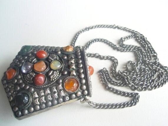 Eat Pray Love - Antique India Amulet