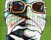 "Print 8x10"" - The Invisible Man - Sci Fi Horror Classic"