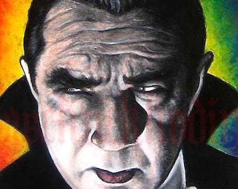 "Print 8x10"" - Bela Lugosi - Dracula"