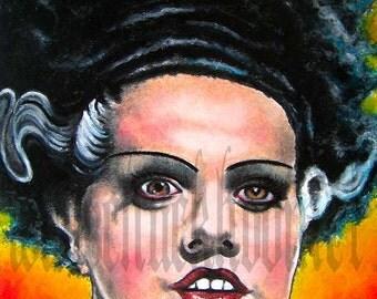"""Print 8x10"""" - Bride of Frankenstein"""