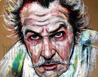 "Print 5x7"" - Vincent Price"
