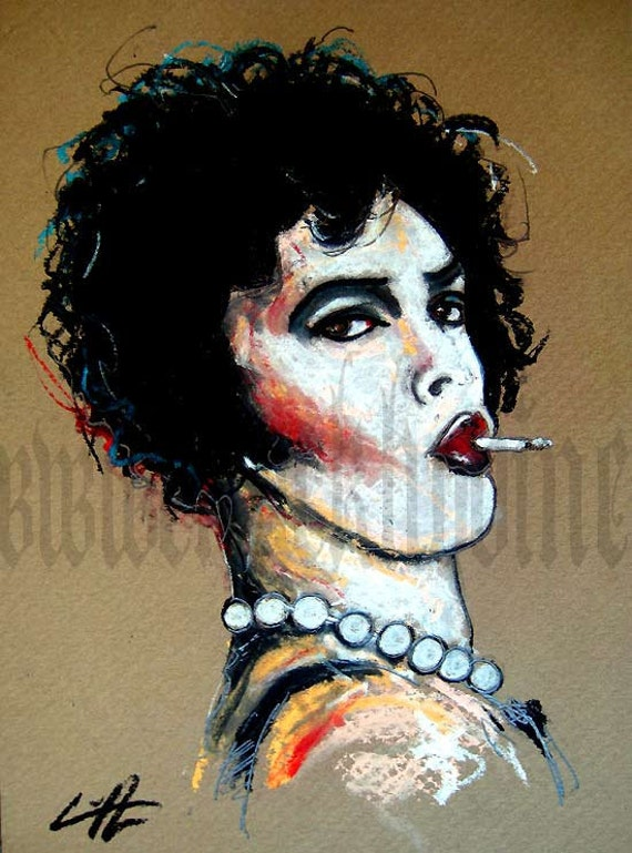 """Print 8x10"""" - Dr. Frank N Furter - Rocky Horror Picture Show"""