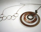 RIPPLE-Mixed Metal Necklace
