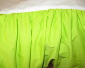 Solid Color Ruffled Crib Skirt - You Pick the Color