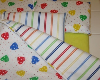 "18"" Dolls Bedding Set - 5 piece Doll bedding - 18"" dolls"