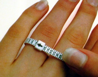 Adjustable Ring Sizer - Find your perfect size - FREE SHIPPING in the US - Sizes 1 thru 17 - Ready to Ship