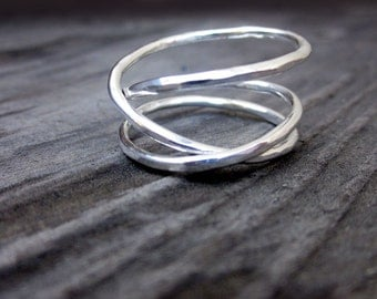 Sterling Mobius Ring by donnaodesigns