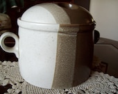 Mikasa Studio Kiln Bean Pot and Lid - Potter's Art