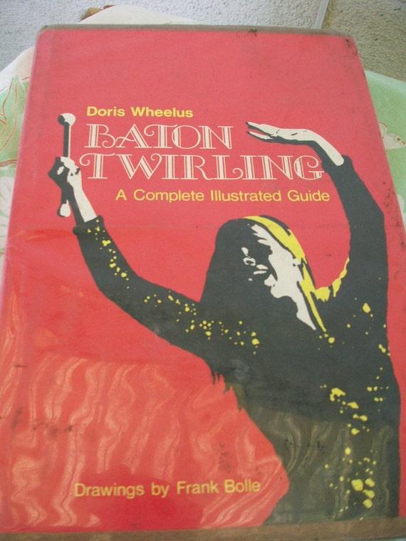 Baton Twirling Book 1975