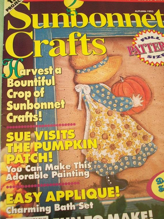 Sunbonnet Crafts Magazine 1993