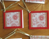 Altered Art Gift Tags or invites from Laura Ashley