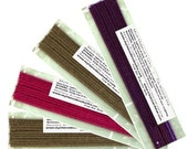 6 packs of Hand Dipped Incense. Great Gift or special treat