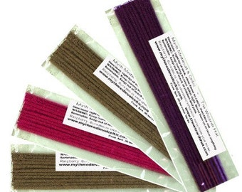 50 sticks Hand Dipped Incense - MADE by The Wizards Hat